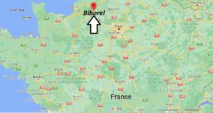 Où se trouve Bihorel