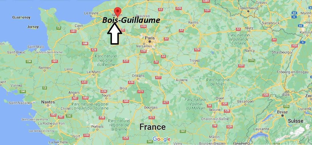 Où se trouve Bois-Guillaume
