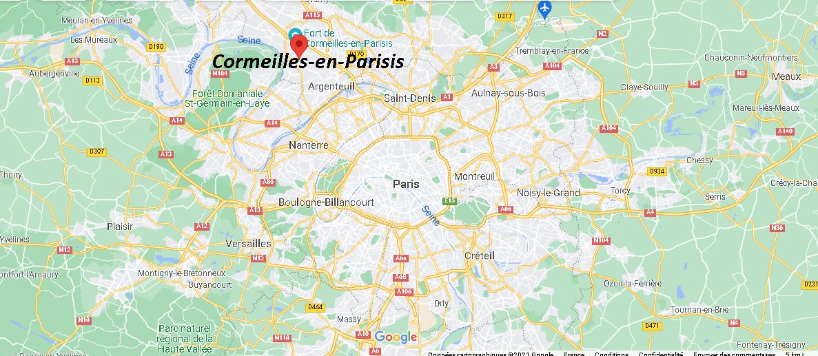 Où se trouve Cormeilles-en-Parisis