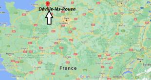 Où se trouve Déville-lès-Rouen
