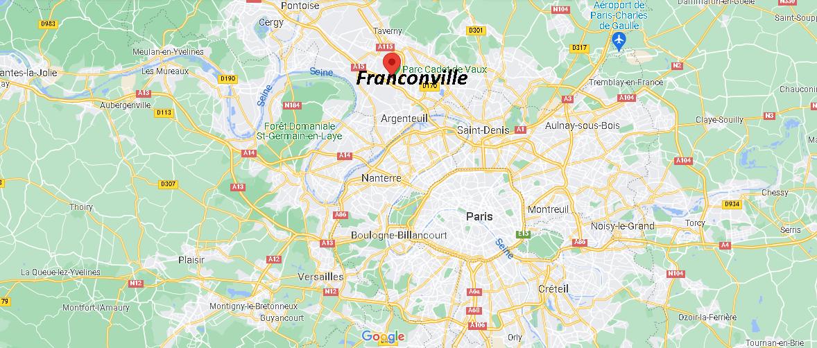 Où se trouve Franconville