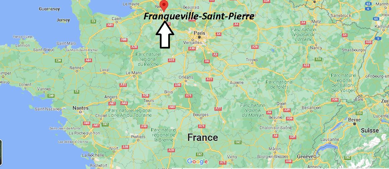 Où se trouve Franqueville-Saint-Pierre