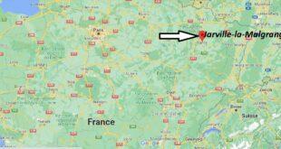Où se trouve Jarville-la-Malgrange