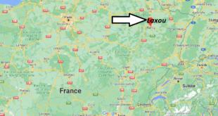 Où se trouve Laxou