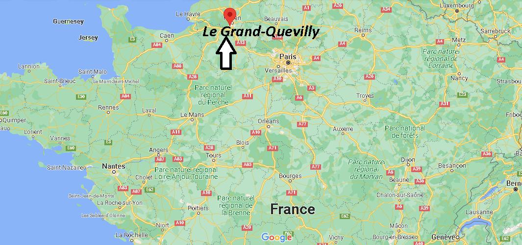 Où se trouve Le Grand-Quevilly