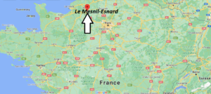 Où se trouve Le Mesnil-Esnard