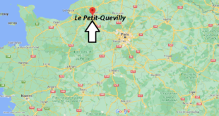 Où se trouve Le Petit-Quevilly