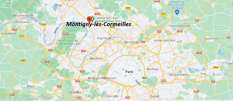 Où se trouve Montigny-lès-Cormeilles