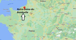Où se trouve Notre-Dame-de-Bondeville
