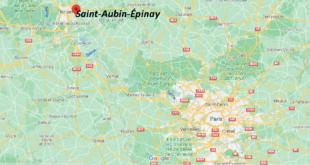 Où se trouve Saint-Aubin-Épinay