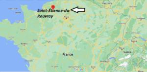 Où se trouve Saint-Étienne-du-Rouvray