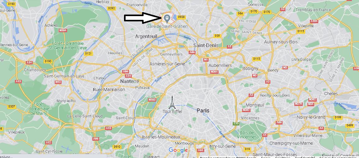 Où se trouve Saint-Gratien