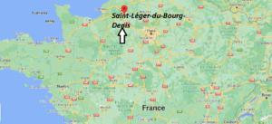 Où se trouve Saint-Léger-du-Bourg-Denis