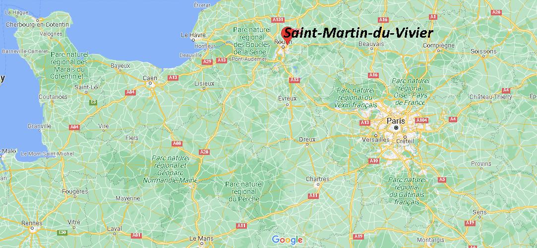 Où se trouve Saint-Martin-du-Vivier