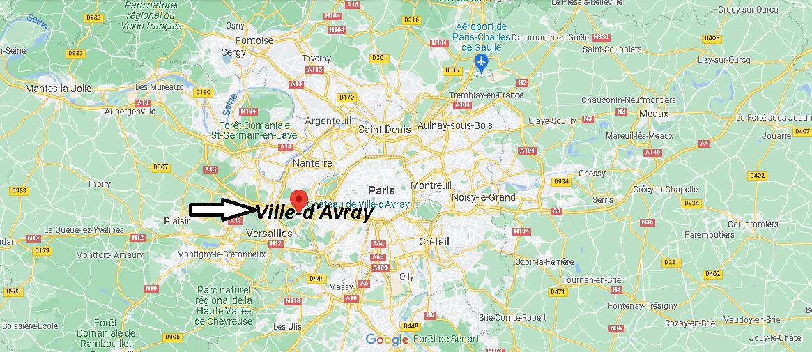 Où se trouve Ville-d Avray