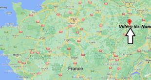 Où se trouve Villers-lès-Nancy