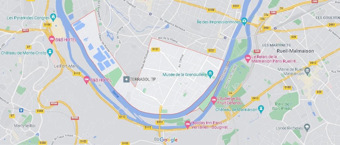 Carte Croissy-sur-Seine