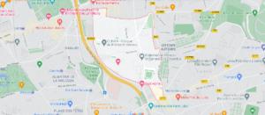 Carte Plan Le Pré-Saint-Gervais