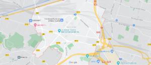 Carte Plan Noisy-le-Sec