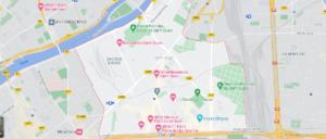 Carte Plan Saint-Ouen
