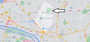 Carte Plan Villetaneuse