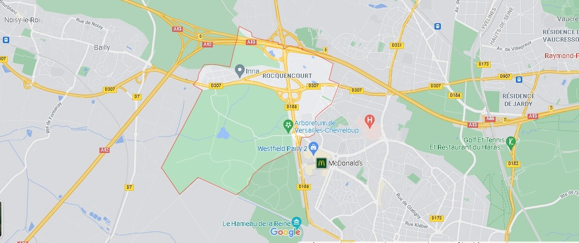 Carte Rocquencourt