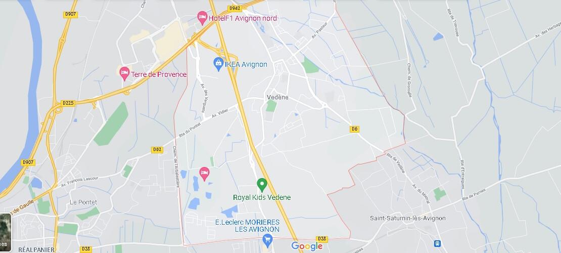 Carte Vedène