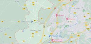 Carte Vouneuil-sous-Biard