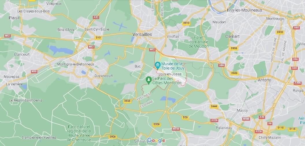 Dans quelle région se trouve Jouy-en-Josas