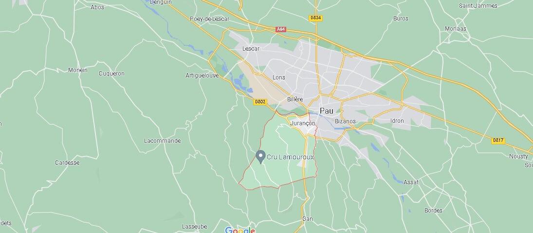 Dans quelle région se trouve Jurançon