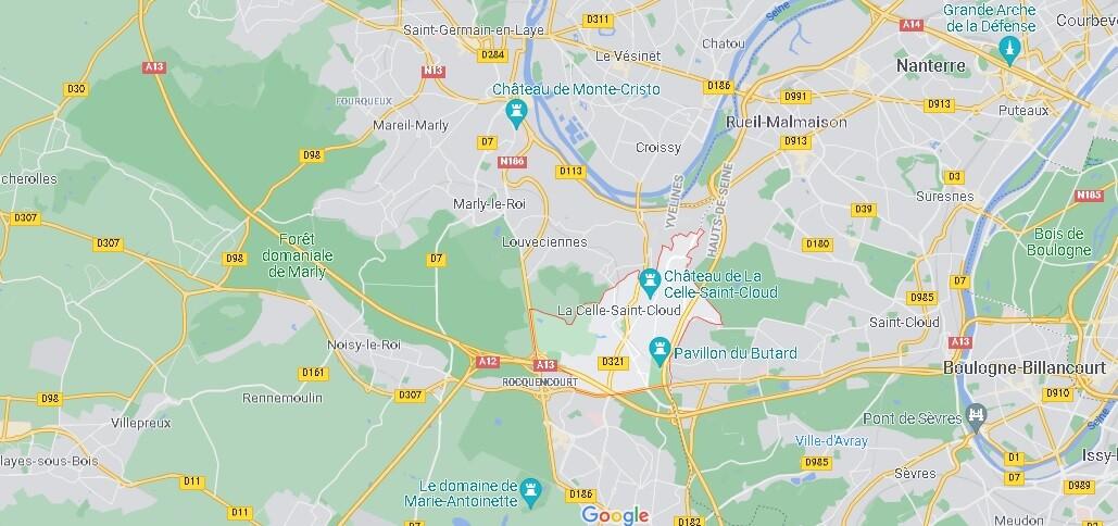 Dans quelle région se trouve La Celle-Saint-Cloud