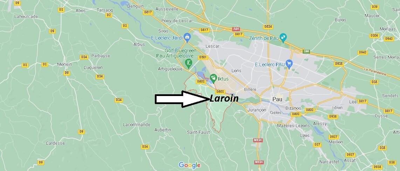 Dans quelle région se trouve Laroin
