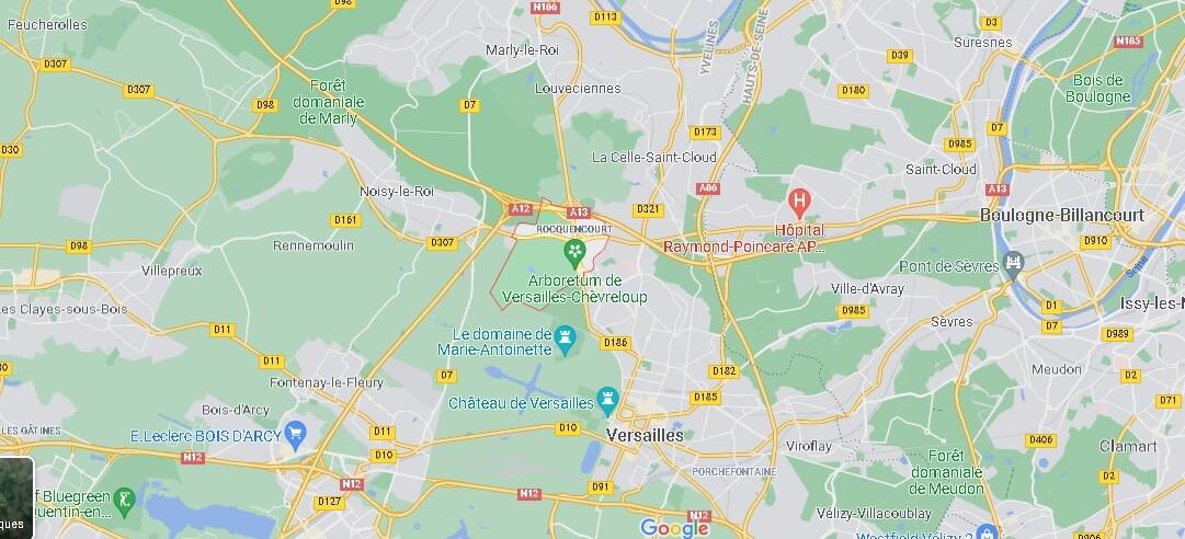 Dans quelle région se trouve Rocquencourt
