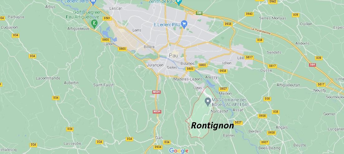 Dans quelle région se trouve Rontignon