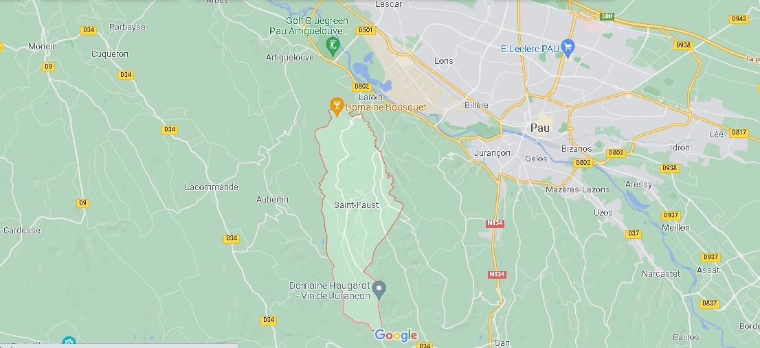 Dans quelle région se trouve Saint-Faust