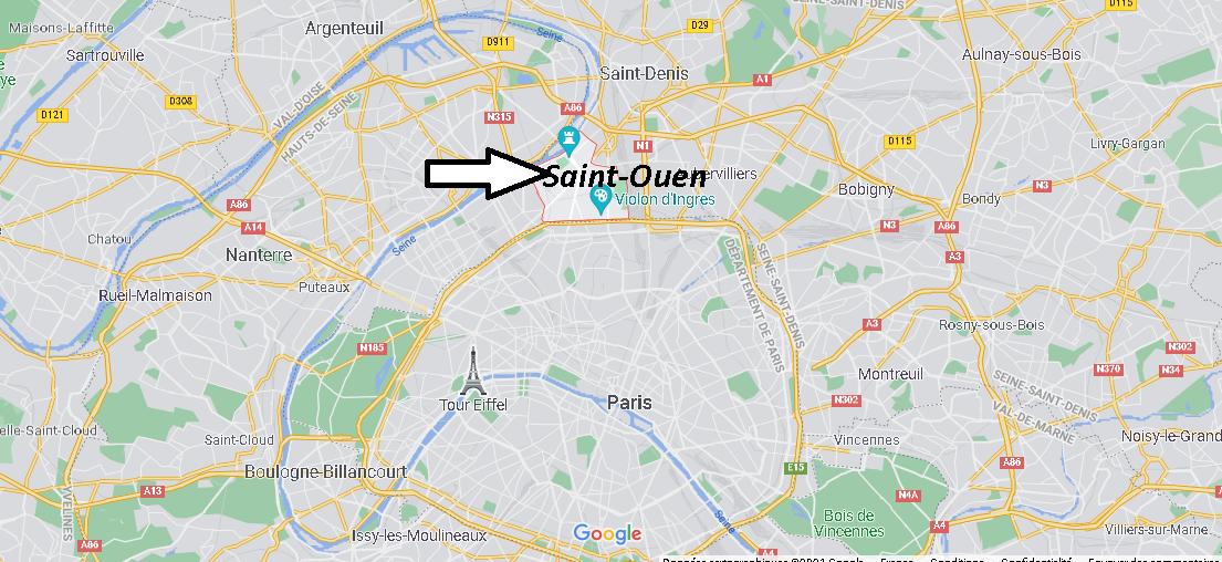 Dans quelle région se trouve Saint-Ouen-sur-Seine