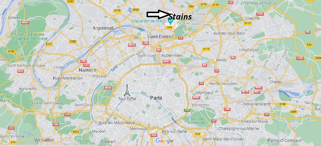 Dans quelle région se trouve Stains