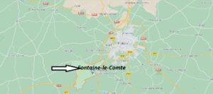 Où se situe Fontaine-le-Comte (Code postal 86240)
