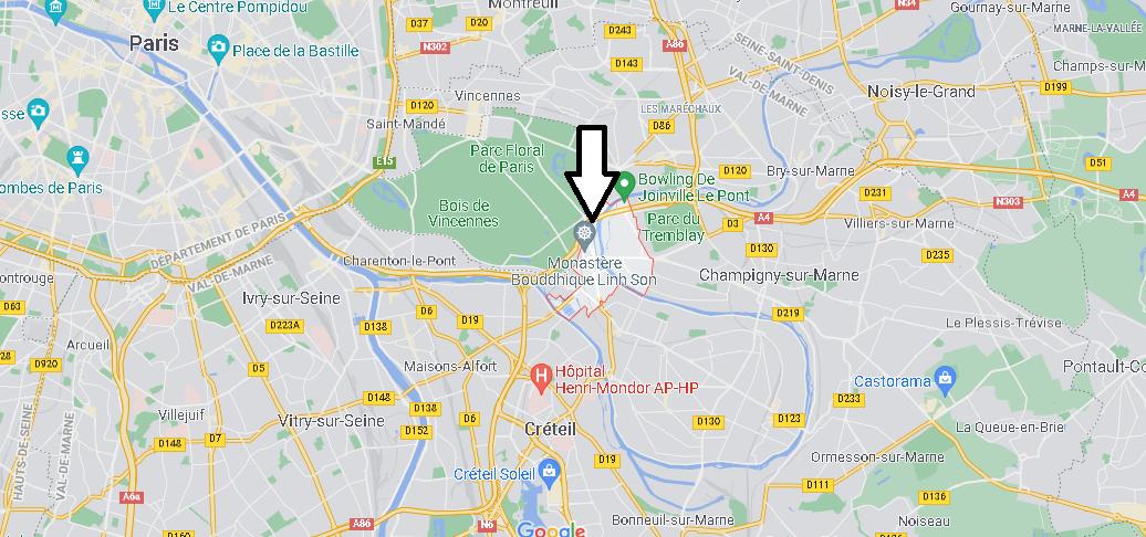 Où se situe Joinville-le-Pont (Code postal 94340)