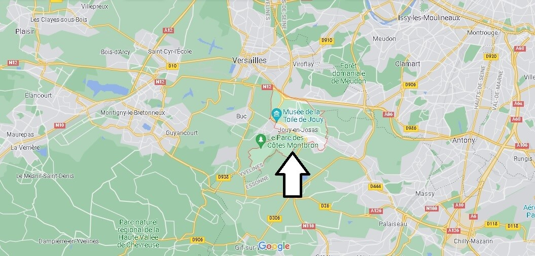 Où se situe Jouy-en-Josas (Code postal 78350)