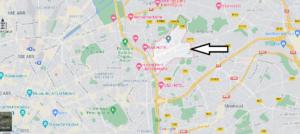 Où se situe Les Lilas (Code postal 93260)