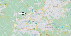 Où se situe Marquette-lez-Lille (Code postal 59520)