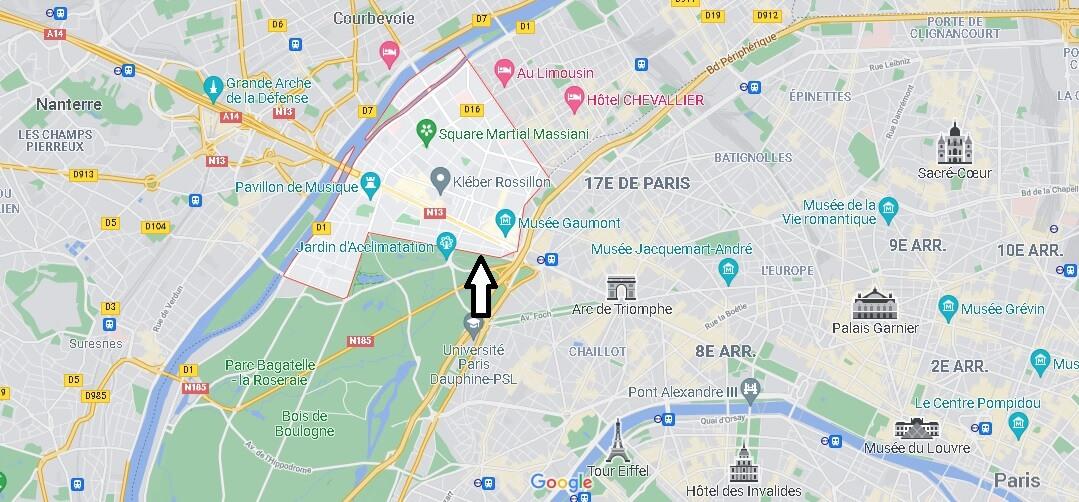 Où se situe Neuilly-sur-Seine (Code postal 92200)