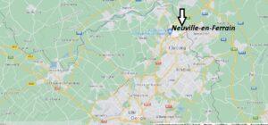 Où se situe Neuville-en-Ferrain (Code postal 59960)