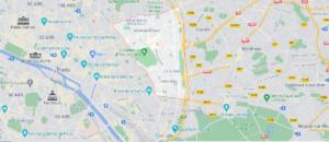 Où se situe Paris 20e Arrondissement (Code postal 75020)