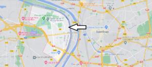 Où se situe Villeneuve-la-Garenne