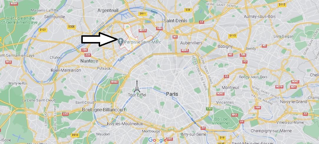Où se trouve Asnières-sur-Seine