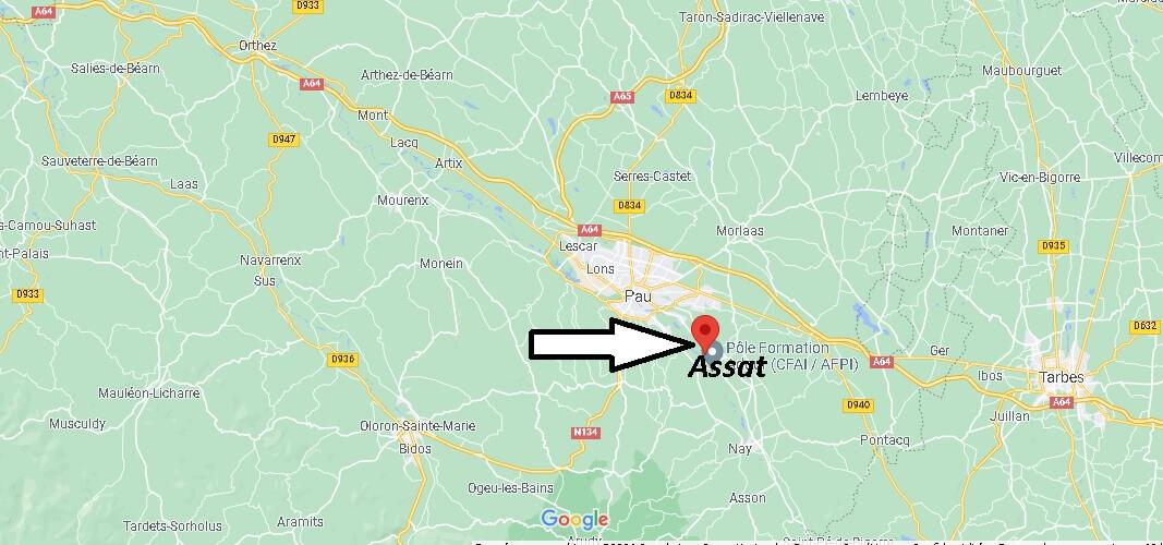 Où se trouve Assat