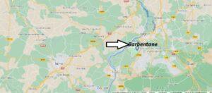 Où se trouve Barbentane