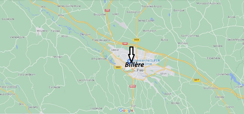 Où se trouve Billère